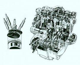 Motoralkatrészek